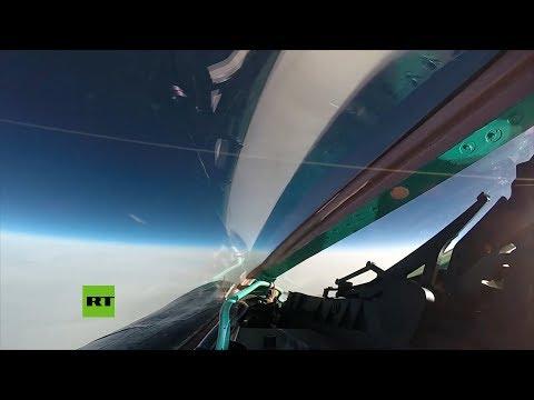 Cazas MiG-31 rusos 'combaten' en la estratosfera a velocidades supersónicas