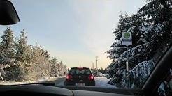 Oberwiesenthal & Fichtelberg, Verkehrschaos 29.12.2019