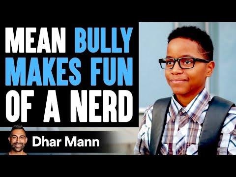 Bully Makes Fun Of Nerd, Nerd Teaches Him A Lesson | Dhar Mann