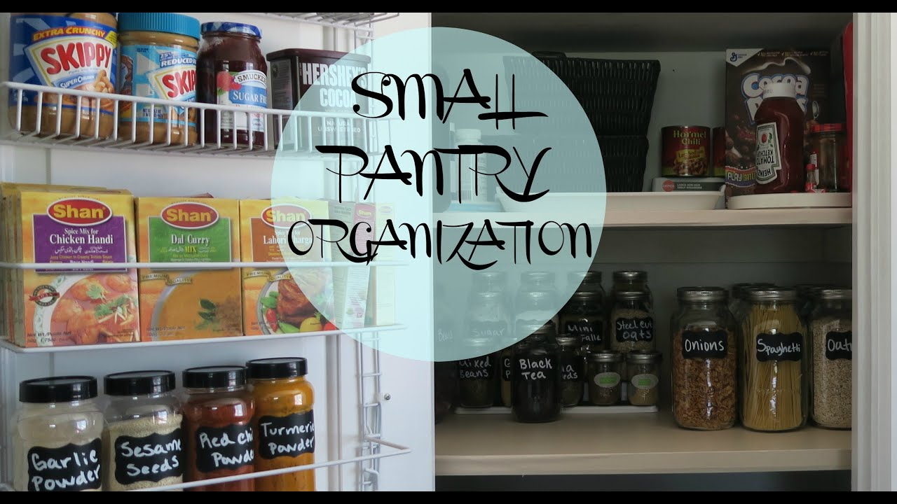 ✨SMALL PANTRY ORGANIZATION✨ - YouTube