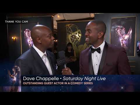 69th Emmys Thank You Cam: Dave Chappelle