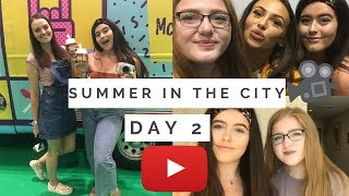 SUMMER IN THE CITY DAY 2 | Meeting Imogenation, Free Mcdonalds & Having The Best Day!
