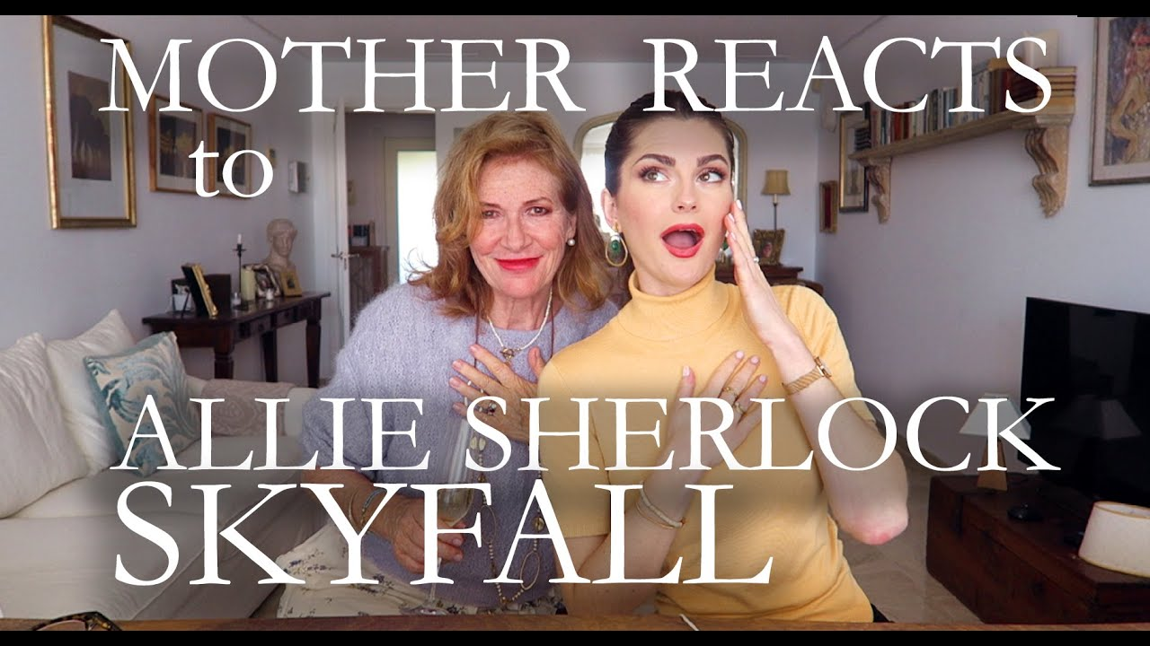 MOTHER REACTS to Allie Sherlock - SKYFALL  |  Reaction Video