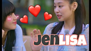 Hmm portion JENLISA😏💛 catch me if you can - J.😉 LILIxNINI
