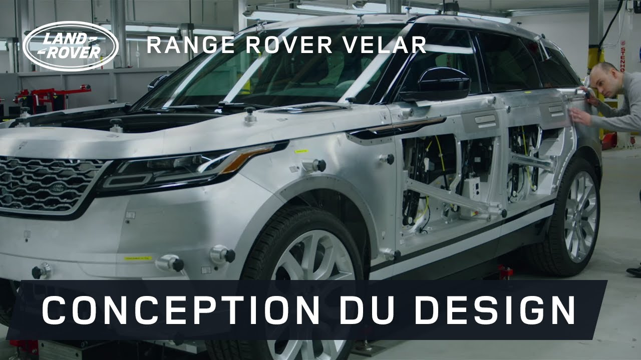 nouveau range rover velar l 39 art de la simplicit youtube. Black Bedroom Furniture Sets. Home Design Ideas
