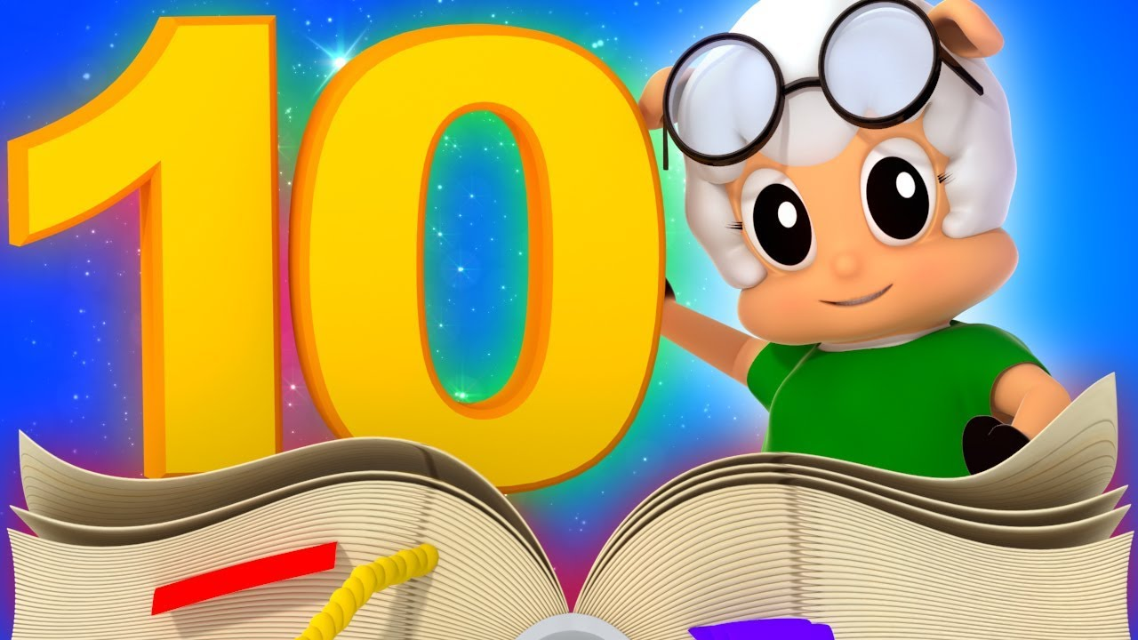 1 To 10 Number Song | Videos For Toddlers | Nursery Rhymes by Farmees