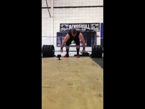 James Lancaster // 350# Clean & Jerk // Battle of the Barbells