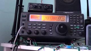 KKS 1 amateur radio satellite reception with hamradio deluxe