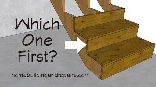 What Goes On First Stair Tread Or Riser? - Building And Construction Tips