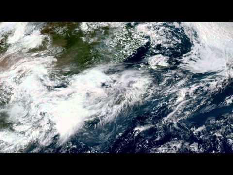 Earth From Space - Sep 5, 2015: Japan, Korea, Beijing & Shanghai