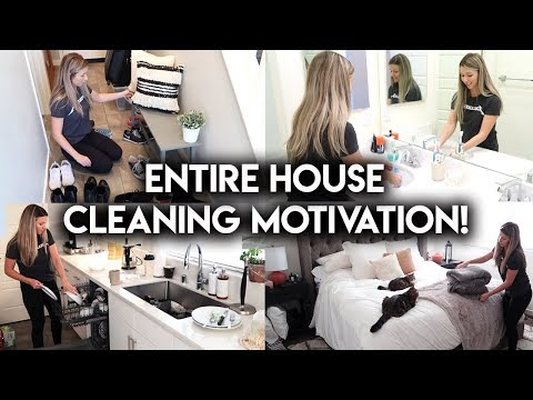 COMPLETE DISASTER ULTIMATE CLEAN WITH ME **MOTIVATION**