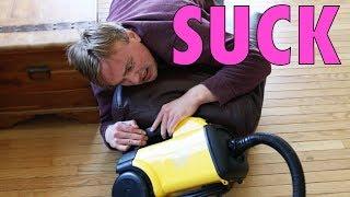 Mitchell Robbins Vacuums Floors