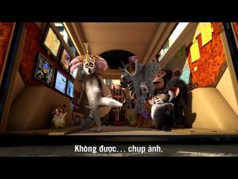 Cuộc phiêu lưu đến Madagascar 3 ( Thần tượng Châu Âu 3D ) _trailer_MegaStar Cineplex