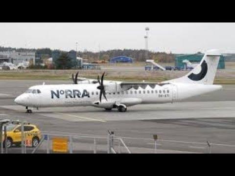 Finnair Landing@ Tartu Airport 2017