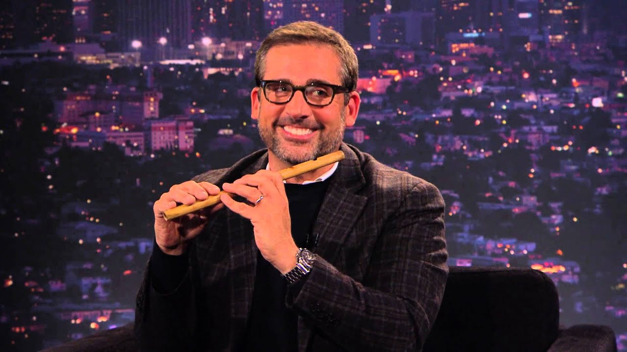 Download Steve Carell shows Tom how to play the fife on TOM GREEN LIVE
