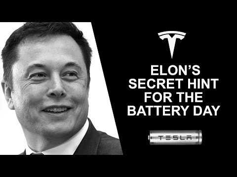 Tesla Battery Day – Elon Secretly Hints At High Performance Supercapacitor