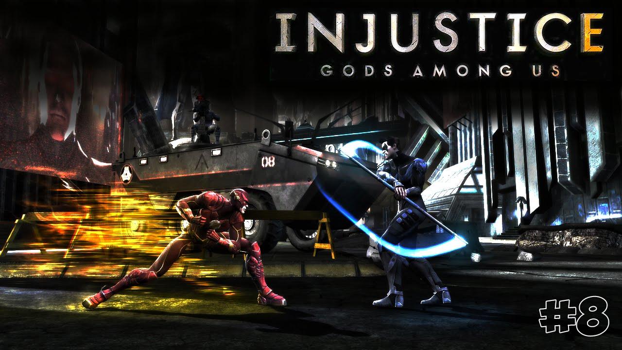 Injustice: Gods Among Us. Прохождение №8 (Gameplay iOS ...