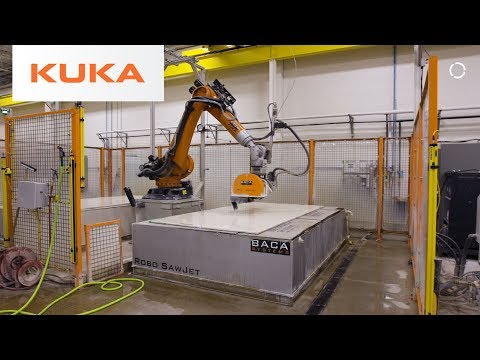 SawJet Robots for the Stone Cutting Industry | Productivity and Safety