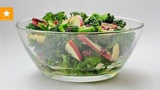 Диета! Необычный салат из брокколи от Мармеладной Лисицы. Raw Broccoli Salad