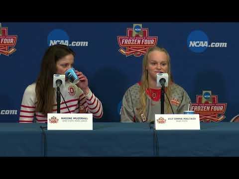 Ohio State University Practice Day Presser | NCAA Women's Hockey Frozen Four