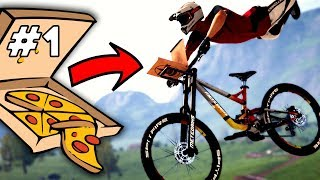 EXTREME Pizza Delivery! - Descenders (Part 1)