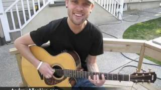 Train - Hey Soul Sister - Acoustic Cover - Andrew Allen
