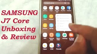 Samsung Galaxy J7 Core Unboxing & Full Review | The Tech Tube