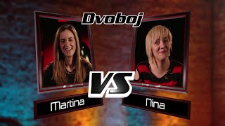 "Martina vs. Nina: ""Say Something"" - The Voice of Croatia - Season1 - Battle4"
