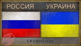 РОССИЯ vs УКРАИНА | Сравнение армий | 2018