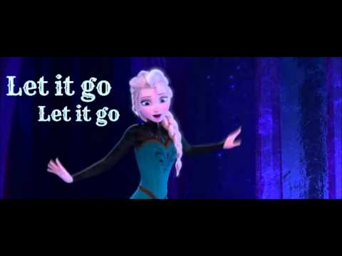 Frozen ~ Let it Go ~ Idina Menzel (Lyrics) - YouTube