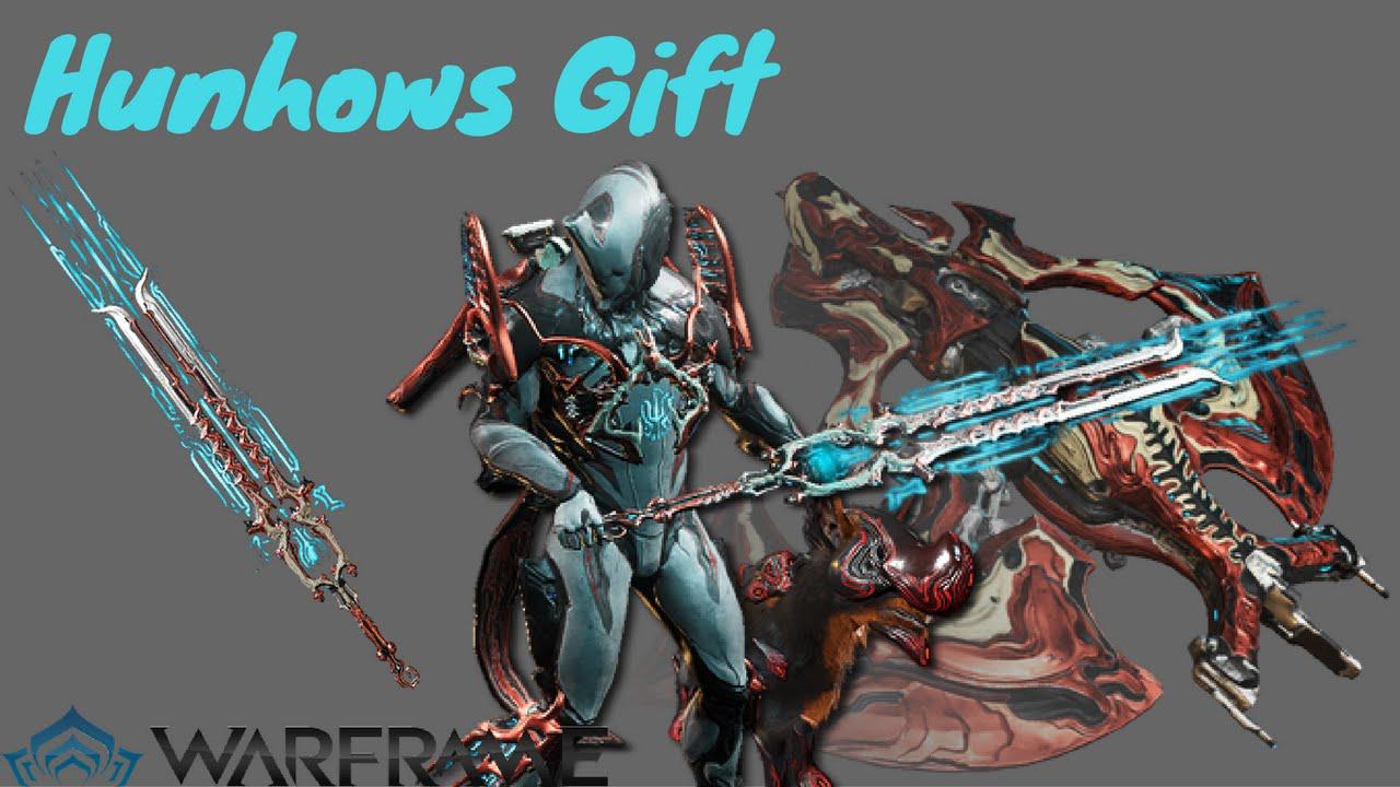 Warframe: Hunhows Gift - YouTube
