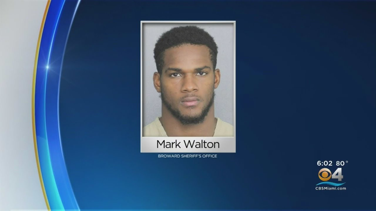 Miami Dolphins Cut Mark Walton After His Fourth Arrest This Year