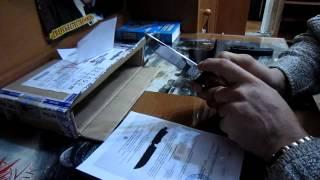 Ніж ''Грибник'' від компанії ''Російський булат''. Розпакування посилки.