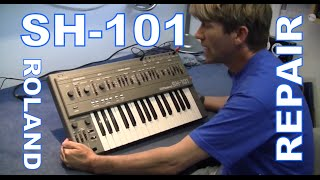 MF#26 Roland SH-101 repair and Trigger it with AIRA TR-8