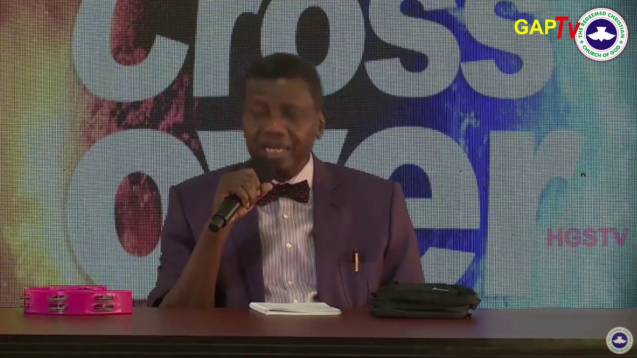 Download Pastor E.A Adeboye Sermon @ RCCG December 31st 2020 CROSSOVER HOLY COMMUNION SERVICE