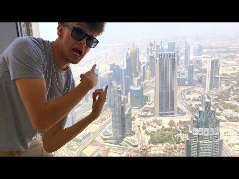 Explorando Burj Khalifa en DUBAI | MILLONARIOS