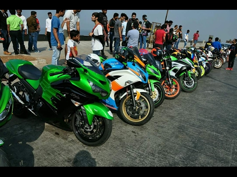 Insane Republic Day Ride with 50+ Superbikes in Mumbai, India | Motovlog