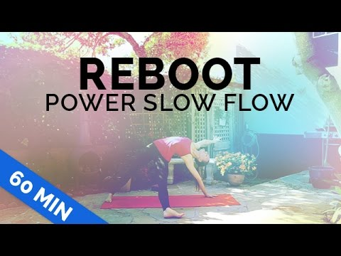 "Yoga Energy Boost - 60 min | Power ""Slow Flow"" Yoga 