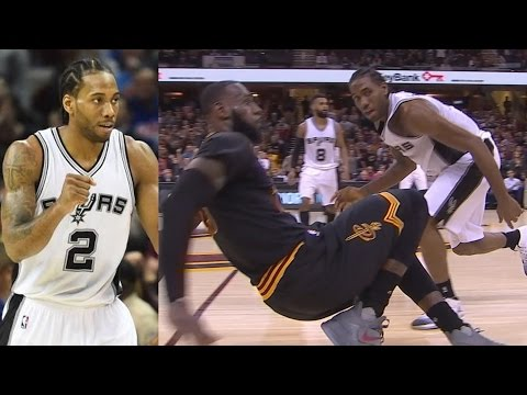 Kawhi Leonard vs LeBron James! Kawhi Career High 41 Pts! Spurs vs Cavs