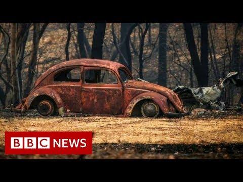 Australia Fires: Fires Worsen As Every Australian State Hits 40C - BBC News