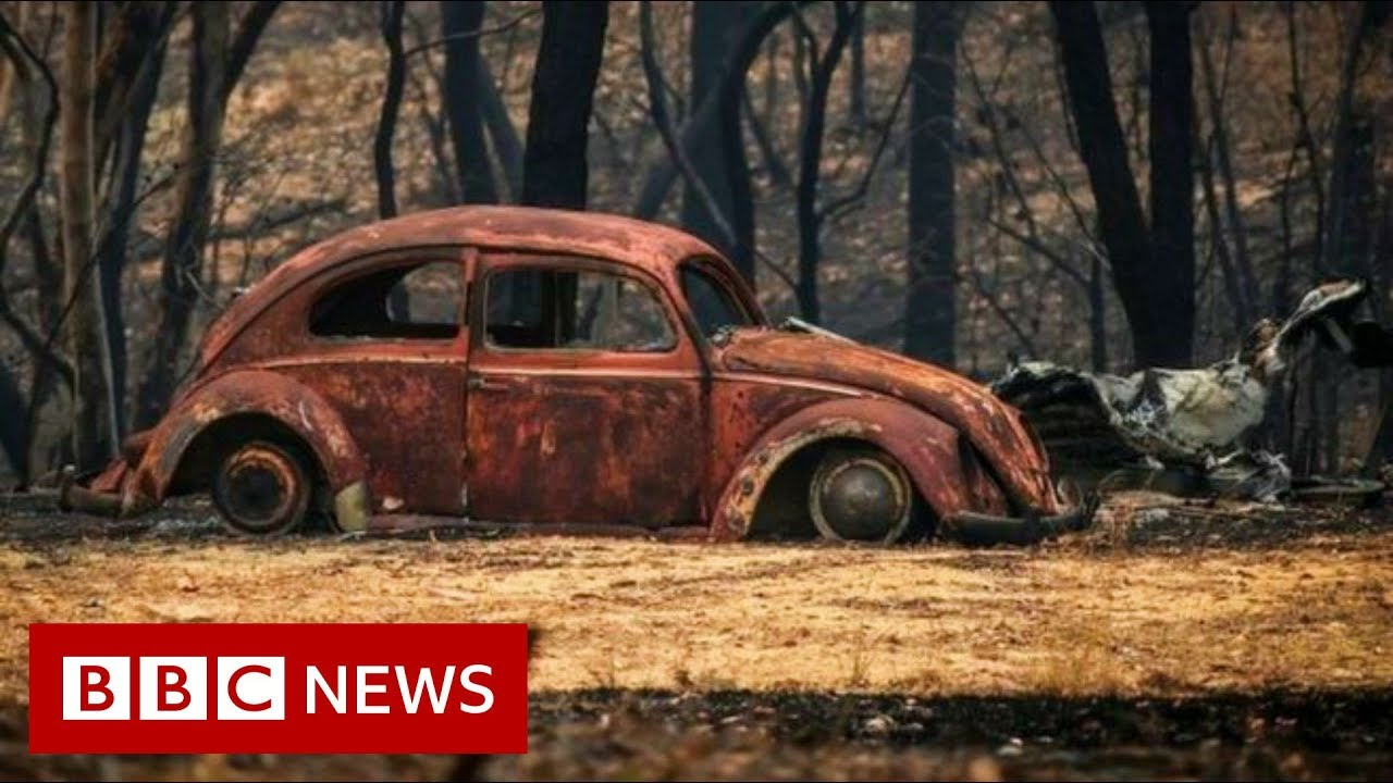 Australia fires: Fires worsen as every Australian state hits 40C - BBC News