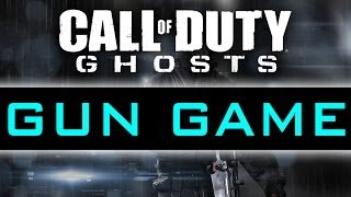 CoD Ghosts GUN GAME Live #2 w/ Vikkstar (Ghosts GunGame Gameplay)