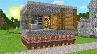 Minecraft STRANGE VILLAGERS STEAL BLACKSMITH HOUSE MOD / THIEF LOOSE IN THE VILLAGE! Minecraft Mods