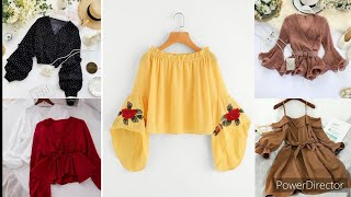 أروع بلوزات صيف2021/أجدد بلوزات طوب بألوان الموضة/ كوليكشن ملابس ستعشقينها تخبل / بلوزات صيف 2021