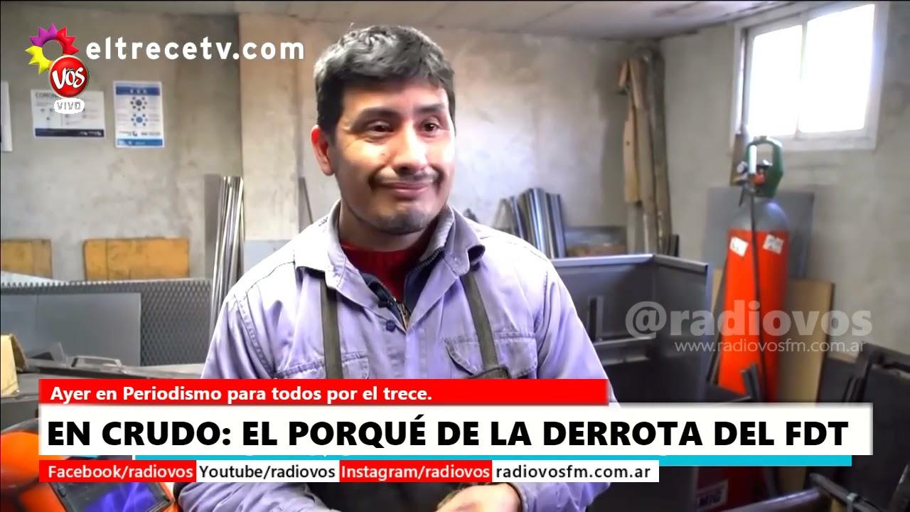 EN CRUDO: EL PORQUÉ DE LA DERROTA DEL FRENTE DE TODOS.