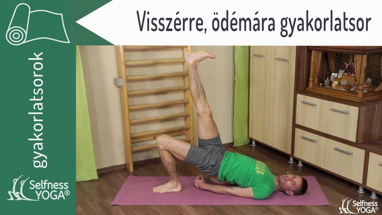jóga és visszér)