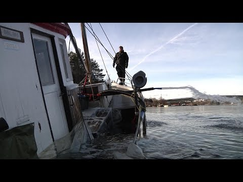 Salvage Of Norwegian Wooden Fishing Boat (Glimt - Part 2)