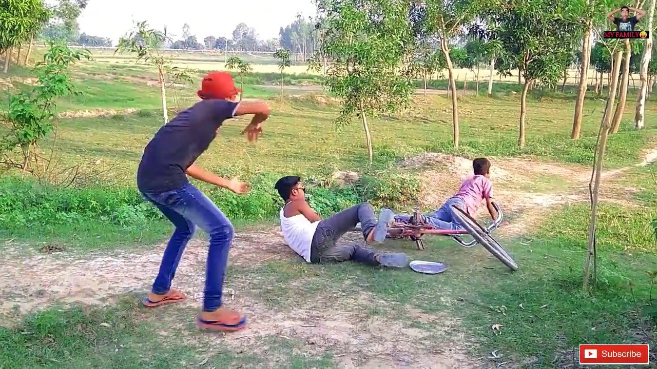 Most Watch Indian Funny??Comedy Videos 2019 || New Funny Videos || #myfamily || Ep-65