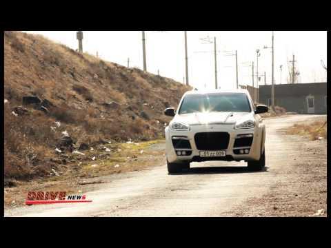"""Test drive Porsche Cayenne Techart Magnum """"Drive News"""""""