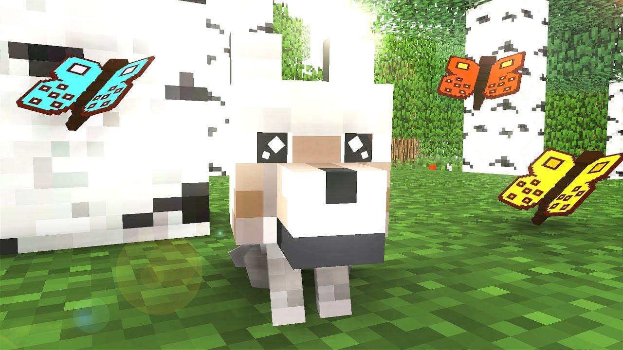 Wolf Life - Minecraft animation - YouTube